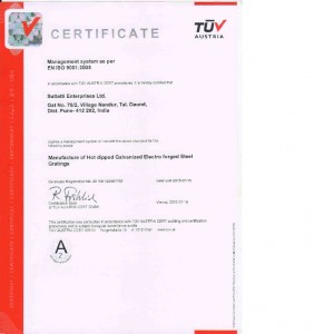 SEL4-ISO Certificate